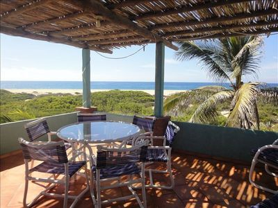 Photo for Beachfront - 5 Min Drive from Todos Santos, 5 Min Walk to Surf