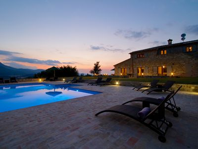 Photo for Amazing Villa With Mountain Views And Infinity Pool. Newly Renovated.