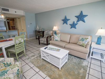 Photo for Gulf Front  2 Bedroom ~ Bonus Bunk Area ~ Great Location ~ Clearwater ~ Sleeps up to 8!
