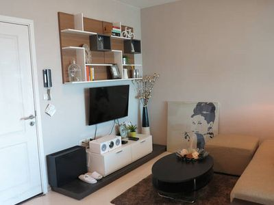 Photo for NYC STYLE 25th Floor New 1BR in BKK