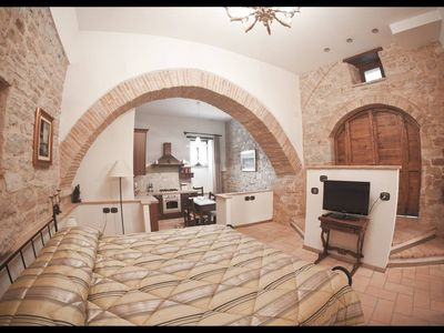 Photo for 1 bedroom apartment central Spello