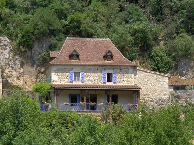 Photo for BEAUTIFUL HOUSE QUERCYNOISE with stunning views of the Lot and St Cirq