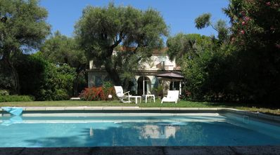 Photo for CAP D'ANTIBES - VILLA SWIMMING POOL NEAR SEA - 6 PEOPLE