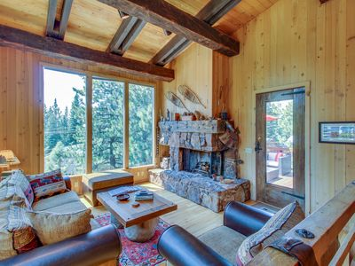 Photo for Beautiful mountain home close to year-round outdoor activities & Lake Tahoe!