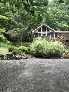 Photo for Incredible Hillside Country House. Heated Pool. Screened in Porch. Sleeps 11.