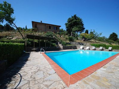 Photo for Detached house with private pool and WiFi, Chianti Classico, Siena