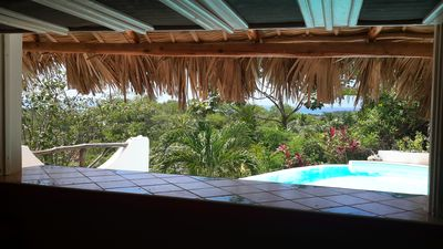 Photo for Mariquita exceptional sea and lomas view - private pool - 5 mn beach