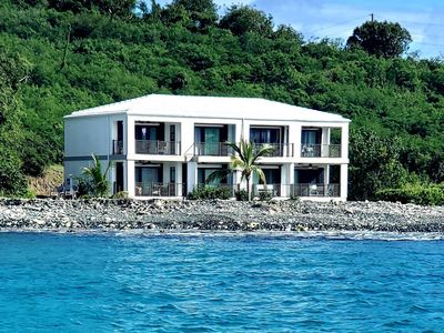 Photo for Tranquil Oceanfront Getaway With Stunning Views Of The Azure Caribbean Sea