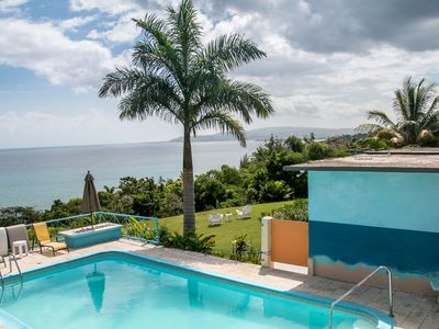 Photo for Free transportation. private villa with amazing ocean veiw, pool, and maid.