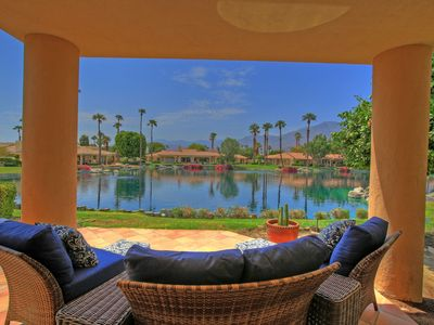 Photo for 181LQ PGA WEST 3 BEDROOM 3.5 BATH CONDO WITH SANTA ROSA MOUNTAIN & LAKE VIEWS