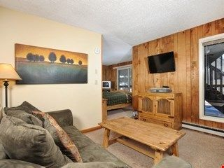 Photo for Cozy, Wooded Studio Condo for 2 Just Minutes from the Ski Lifts!