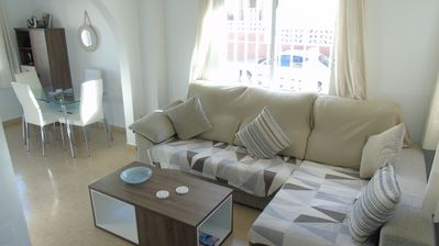 Photo for Corner Townhouse in Gran Alacant - WiFi, Sea Views, Close To Amenities ...