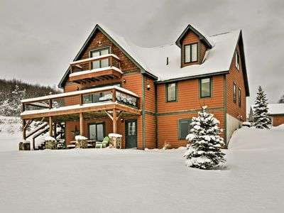 Photo for Mountaintop Ellicottville Home w/Deck Near Skiing!