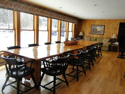 Memorable Moments - dining room table that seats 16+