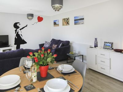 Photo for CYSGOD Y CAPEL, pet friendly, with a garden in Benllech, Ref 1008802