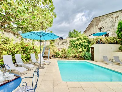 Photo for ROSE COTTAGE & POOL 1 HOUR TO BORDEAUX & BERGERAC AIRPORTS - FREE ARRIVAL MEAL