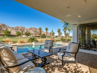 Photo for New Remodeled Luxury PGA West Home W/Saltwater Pool/Spa Awesome Mountain and Golf Course Views