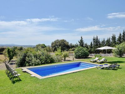 Photo for RUSTIC Villa Aubons situated in a pure NATURE with private POOL & GARDEN