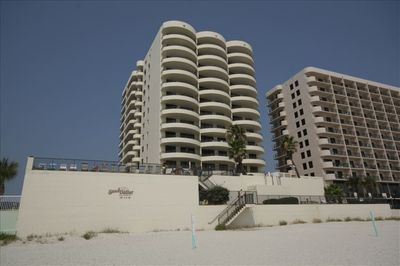 The Condo from the Beach