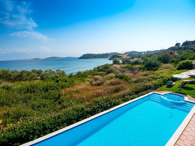 Photo for Apartment for 4 people with1 or 2 bedrooms with sea view and shared pool