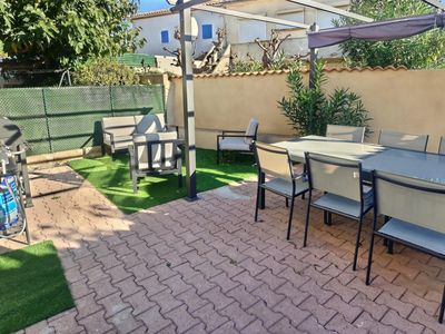 Photo for In a small residence 150m from the beach, apartment for 6 people. Clévacances label. Réf.3103