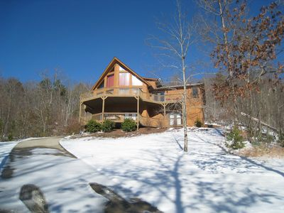 Photo for Mountain Lodge with Great View and Great Location near Helen, GA