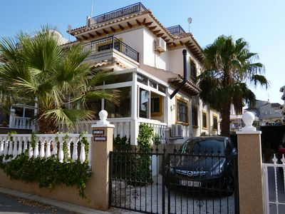 Photo for Villa near Torrevieja with Pool, WiFi, Sun Terrace, Beaches, Golf (sleeps 6)