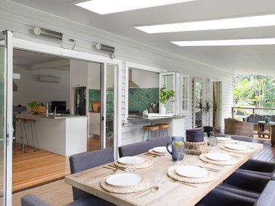 Photo for A Perfect Stay – Mahalo House - upscale Queenslander-style home in Bangalow