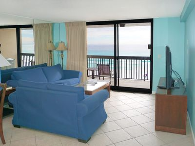 Photo for Beach Front  - Sleeps 6 * HALL BUNKS