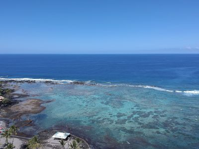 Photo for Spectacular View with 2200 sq ft - Kahaluu Beach