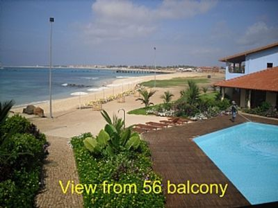 Photo for Stunning Front Line Apartments with breathtaking views of white sandy beach