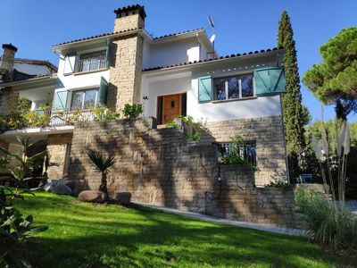 Photo for A completely renovated house with a large garden and close to Barcelona.