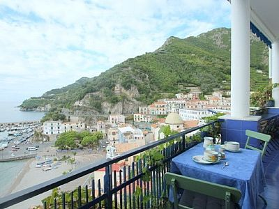 Photo for 2 bedroom Apartment, sleeps 5 in Cetara with Air Con and WiFi