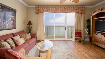 Photo for Right Across The Street From Pier Park! 2 Pools Overlooking Gulf!Next To Pier
