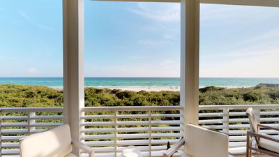 """Photo for * BEACH FRONT """"The Good Stuff"""" * WaterColor * Luxury Beach Cottage * 4BR"""