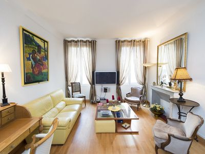 Photo for Luxurious two bedroom apartment in the heart of Cannes and close to the Palais