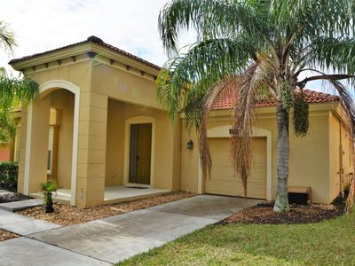 Photo for Gated 4-Bed Resort Pool Home - near Disney-Water View-Games Room!