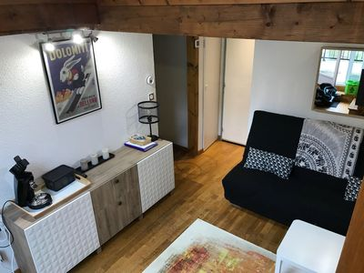 Photo for T2 apartment mezzanine open 4/6 people, WIFI and large terrace