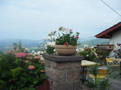 Photo for On the heights of the Basque Country, enjoy the panorama and Camino Frances.