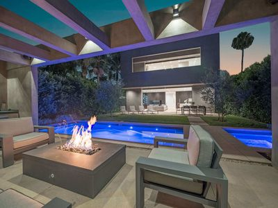 Photo for Hollywood Rooftop Views with Pool, Hot Tub, and Grill