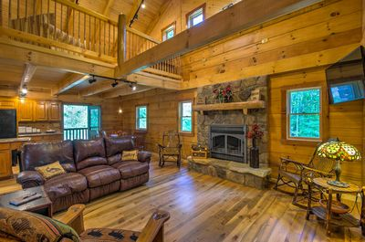 This home was custom-built with beautiful woodwork and timeless rustic finishes.