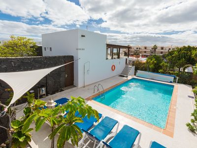 Photo for Casa Raul: Large Heated Private Pool, Walk to Beach, WiFi