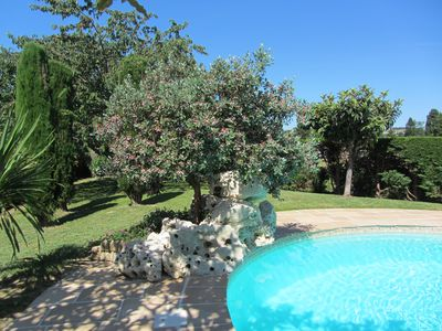Photo for Beautiful renovated independent house with swimming pool and large enclosed garden