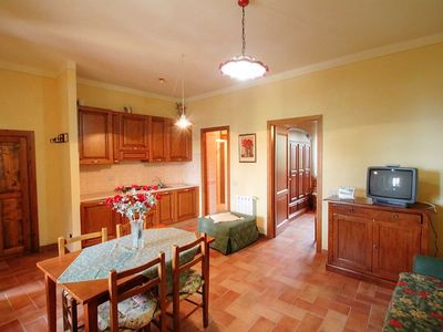 Photo for Apartment in the center of Poggio Alla Baghera with Internet, Pool (116905)