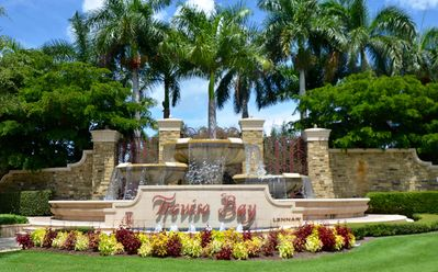 Photo for TREVISO BAY BEAUTIFUL CONDO W GARAGE