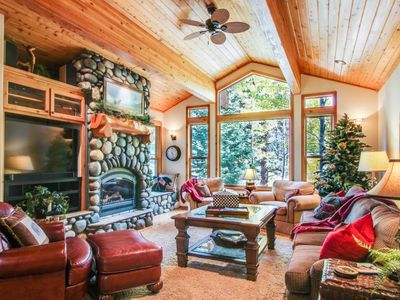 Photo for Northstar Luxury Tree Lodge, Vaulted Ceilings, Free shuttle, Rec. Center