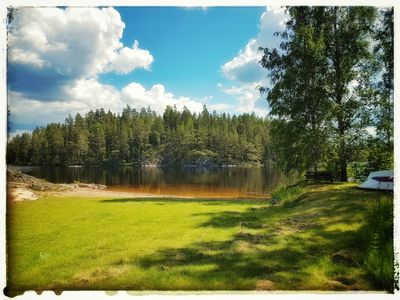 Photo for Apartment with well-equipped kitchen including boat near Lönneberga and Vimmerby