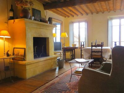 Photo for Very atmospheric decorated apartment in the heart of the Tuscan hills