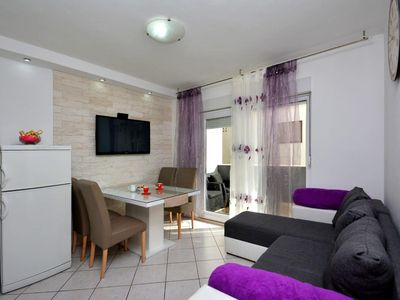 Photo for Two bedroom apartment with terrace Podstrana, Split (A-12045-a)