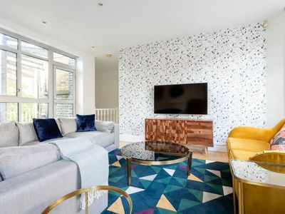 Photo for The Northington Heights - Bright & Stylish 2BDR with Rooftop Terrace